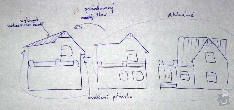 Realizace střechy RD: roof_changes