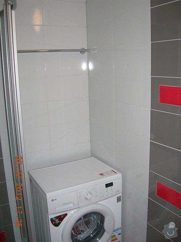 Rekonstrukce koupelny + WC: DSCN4251