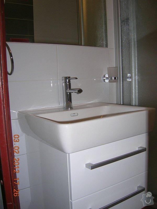 Rekonstrukce koupelny + WC: DSCN4253