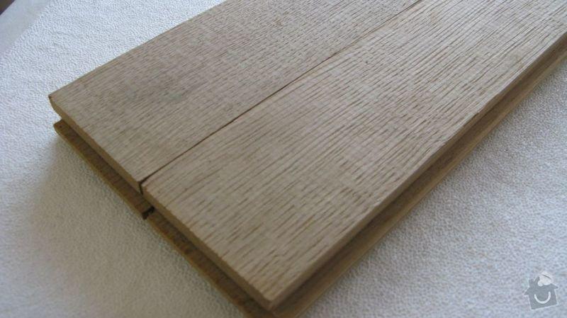 Výměna kuchyňské desky, dřezu a baterie a broušení podlahy 48m2: Vzorek_podlahy