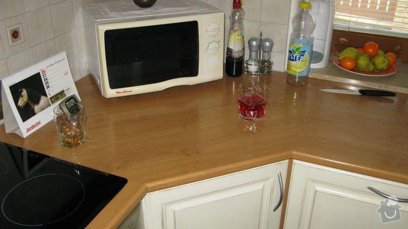 Výměna kuchyňské desky, dřezu a baterie a broušení podlahy 48m2: kuchyn2