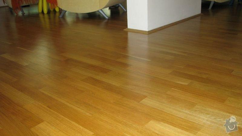 Výměna kuchyňské desky, dřezu a baterie a broušení podlahy 48m2: Podlaha1