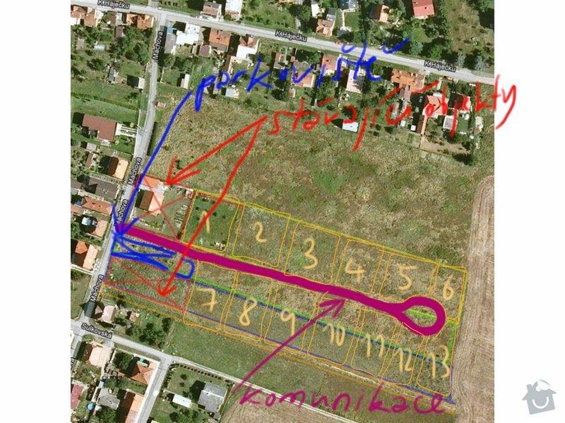 Poptávám realizaci zasíťování pozemnků u Plzně: obrazek