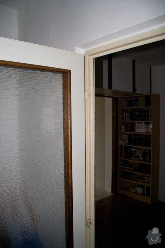 Vybourání kovové zárubně, připravení 2 otvorů pro instalaci dveří: 0