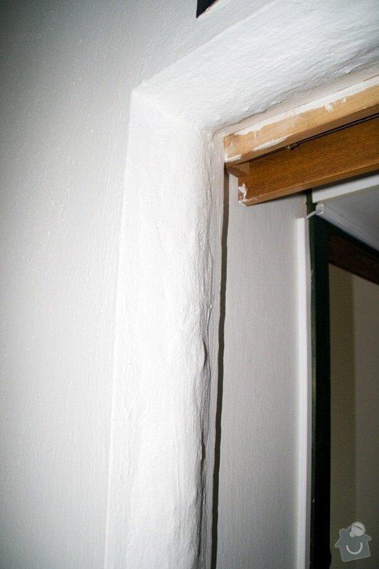 Vybourání kovové zárubně, připravení 2 otvorů pro instalaci dveří: 2
