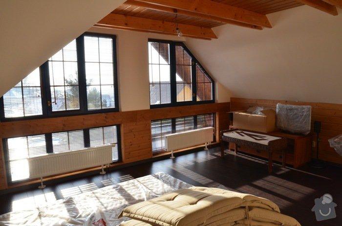 Lakování dřevěného obložení, dveří a malování: DSC_0315