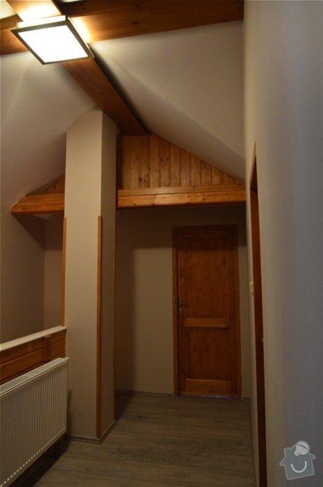 Lakování dřevěného obložení, dveří a malování: DSC_0296