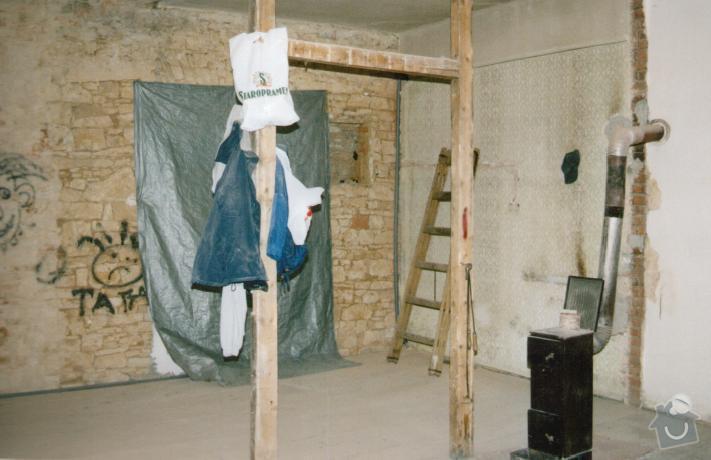 Kompletní rekonstrukce bytu: pricka