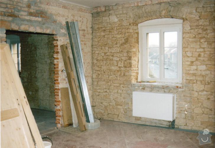 Kompletní rekonstrukce bytu: obyvak