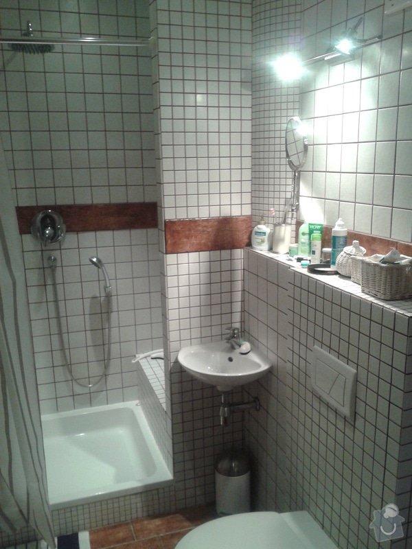 Kompletní rekonstrukce bytu: koupelna_II