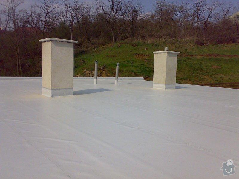 Izolace střechy RD Jedličkovi: 03042007204