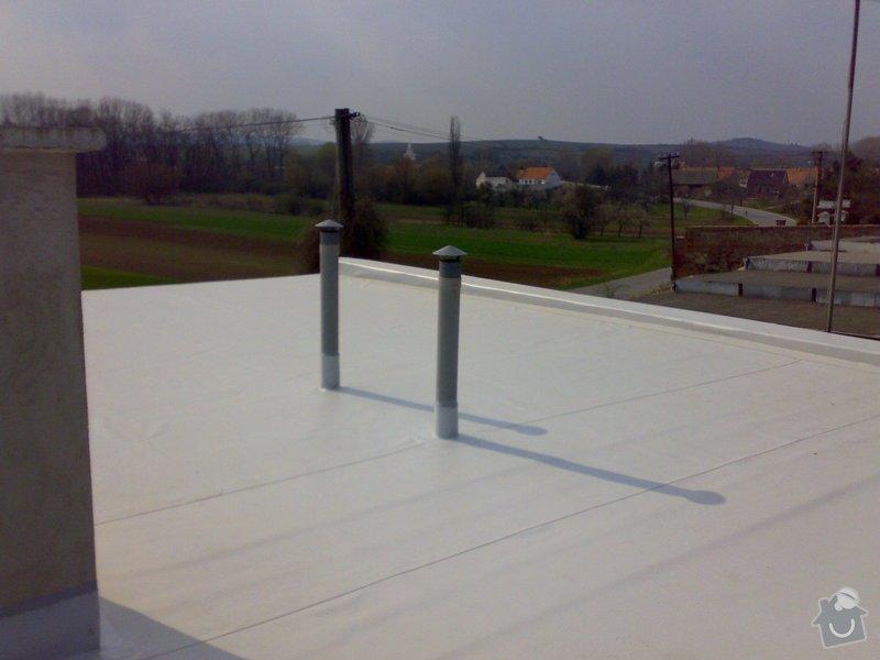 Izolace střechy RD Jedličkovi: 03042007208