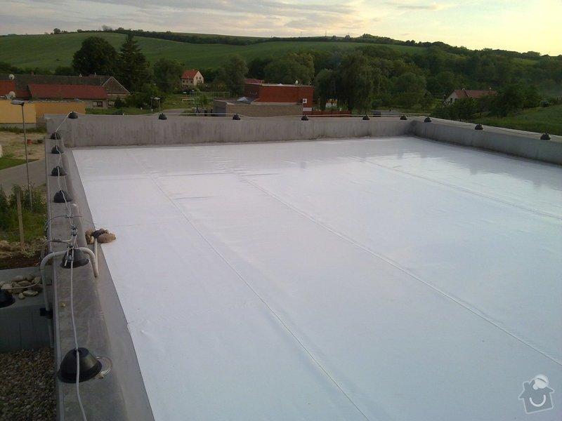 Izolace střech pro firmu ES systems produkt s.r.o: 07062010402