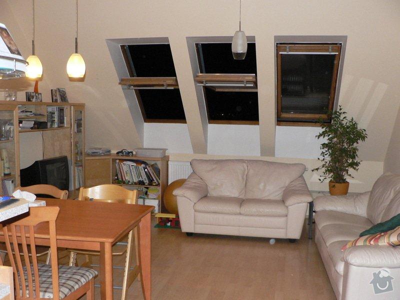 Výměna střešních oken: obyvaci_pokoj