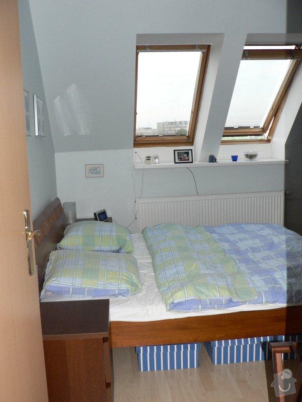 Výměna střešních oken: loznice_II