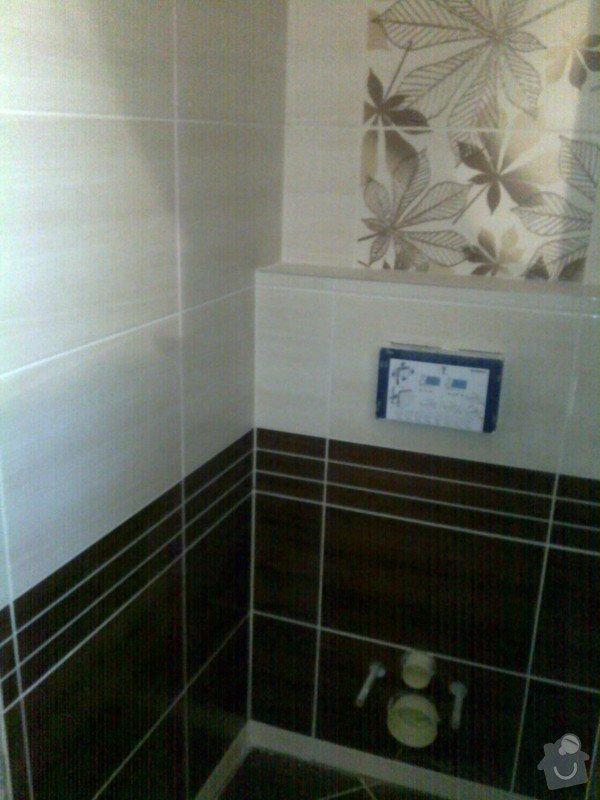 Obkladačské práce - koupelna: 14012012168