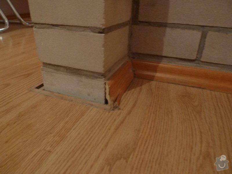 Výměna podlahových lišt / 45m: P1000640
