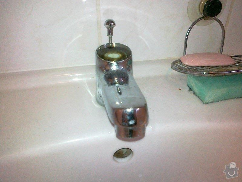 Oprava vodovodní pákové baterie: 08022012055