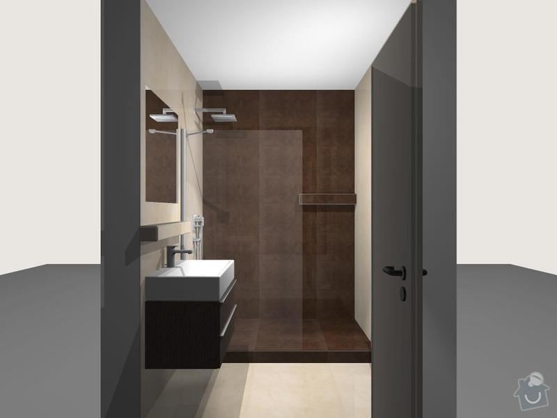 Výměna obkladů a dlažby v koupelně: 222