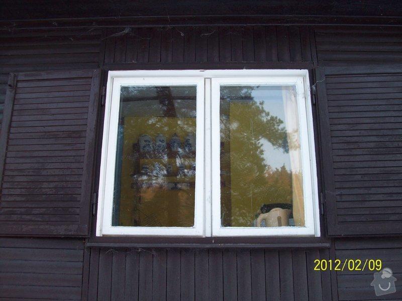 Výroba a výměna dřevěných oken u rekreační chaty: okna_chata_007