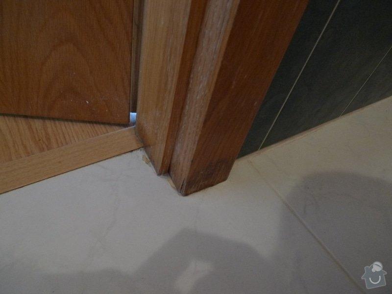 Renovace dveří a zárubní Sapeli: P1000650