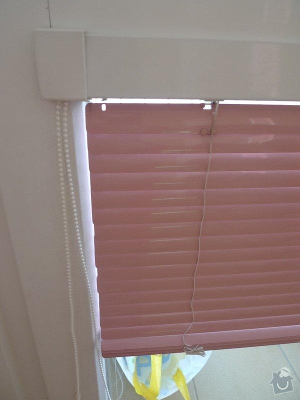 Zhotovení horizontálních interiérových žaluzií 8m^2: P1000663