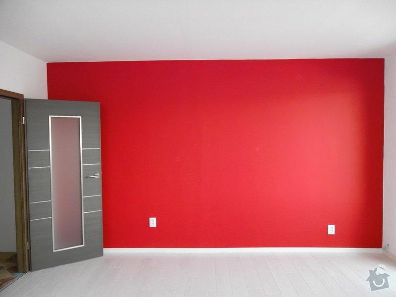 Malování pokoje: cervena_stena