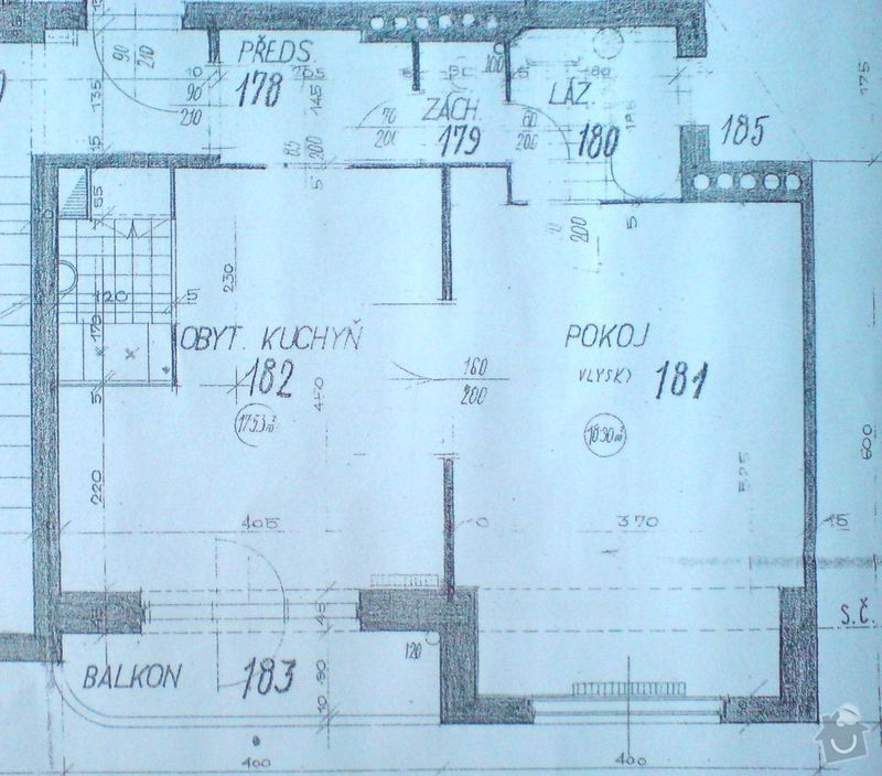 Rekonstrukce WC, koupelny, dveří, předsíně: plan_bytu_01_orez