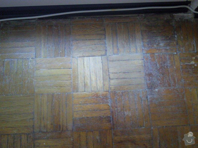 Renovace parketové podlahy: Fotografie0676