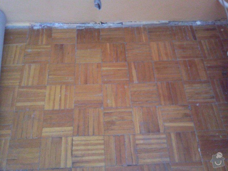 Renovace parketové podlahy: Fotografie0677