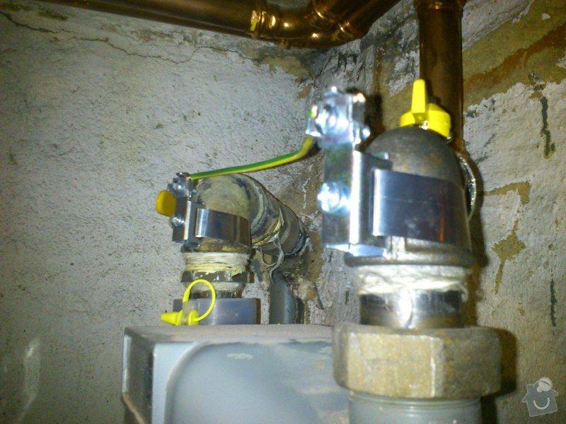 Ochranné pospojení plynoměrů: 2
