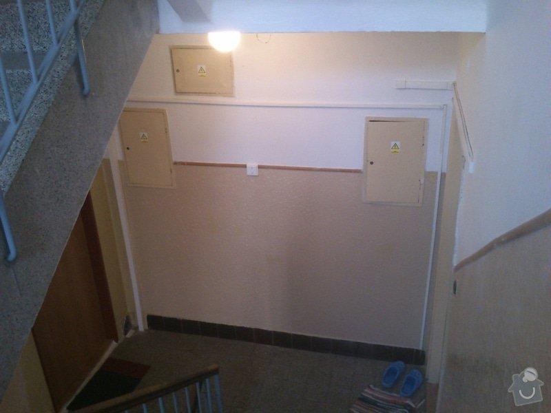 Rekonstrukce elektroinstalace v bytovém domě: 1