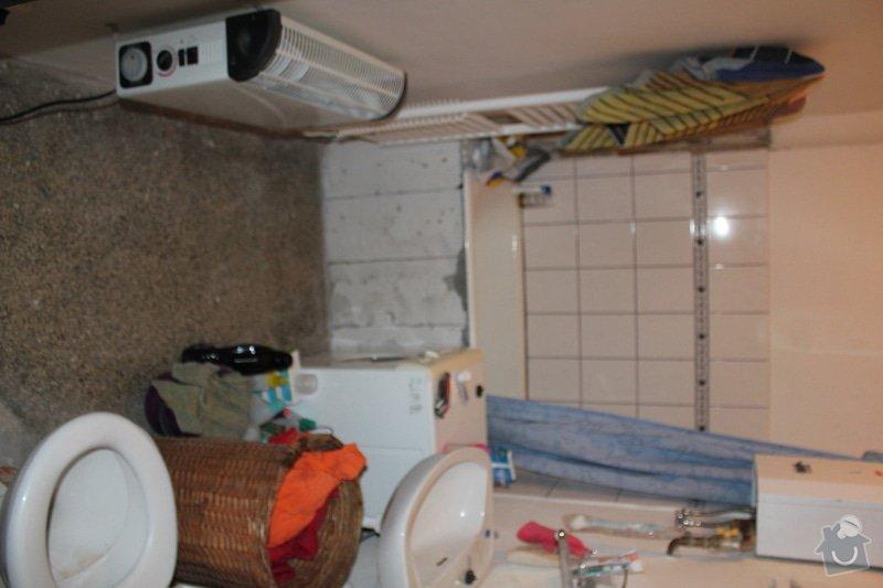 Vydlaždičkování koupelny 18m2, pokládka podlahy v koupelně 3m2: IMG_3221