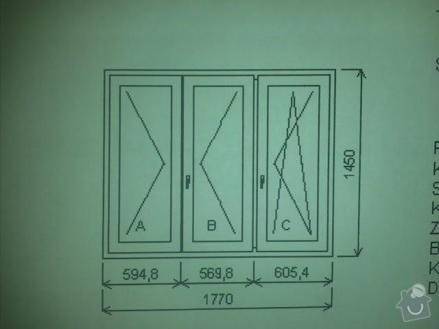 Výměna oken za plastová, byt 4+1: IMG357