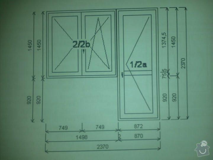 Výměna oken za plastová, byt 4+1: IMG358