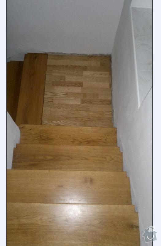 Dřevěné schodiště - postranice, podesty: schody1