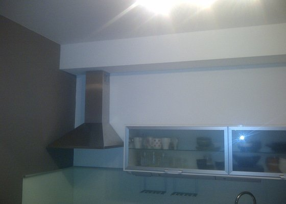 Oprava koupelny malování celého bytu