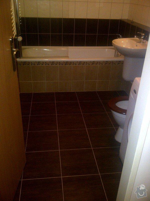 Oprava koupelny malování celého bytu: IMG-20120211-02462