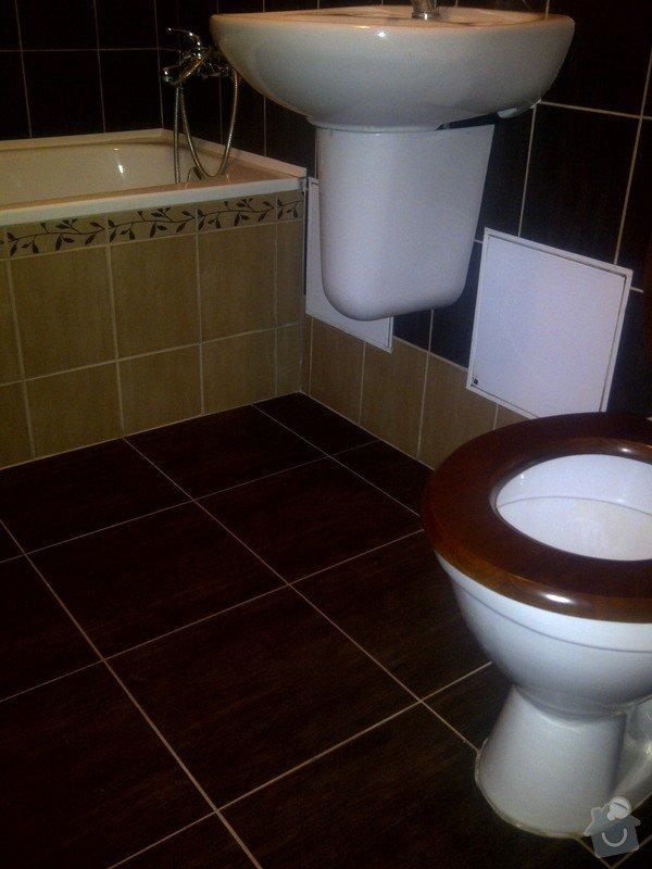 Oprava koupelny malování celého bytu: IMG-20120211-02469