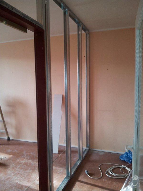 Přepažení místnosti: 20120123_113026