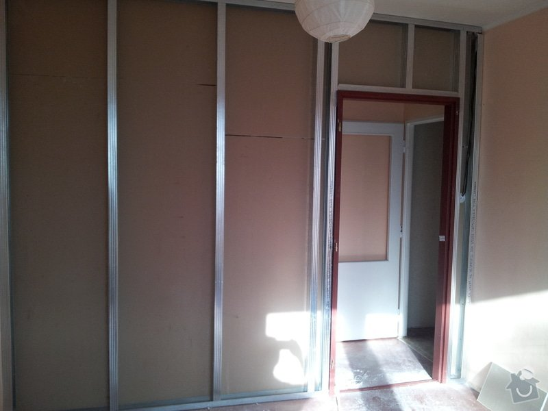Přepažení místnosti: 20120123_120201