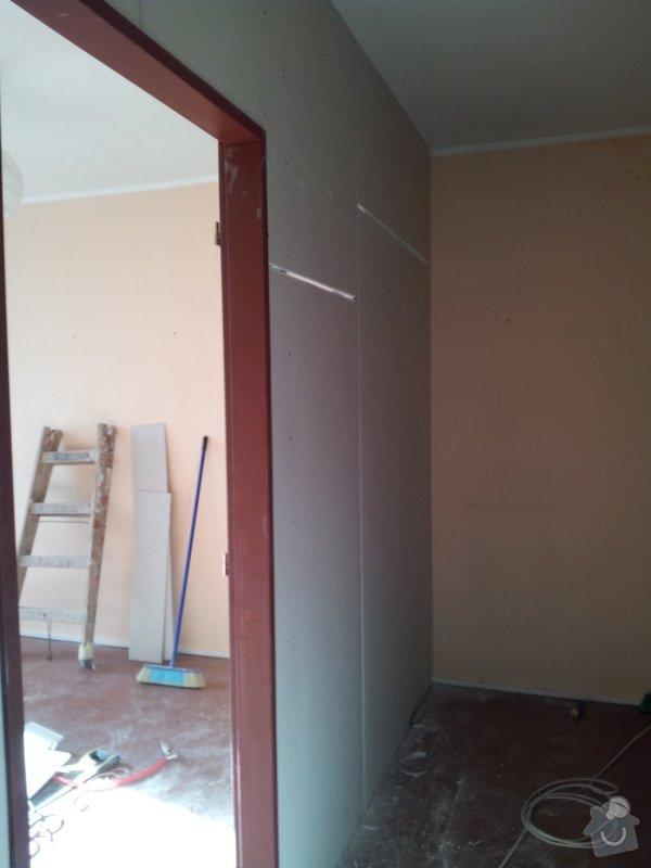 Přepažení místnosti: 20120123_120213