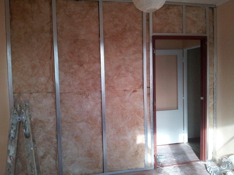 Přepažení místnosti: 20120123_121130