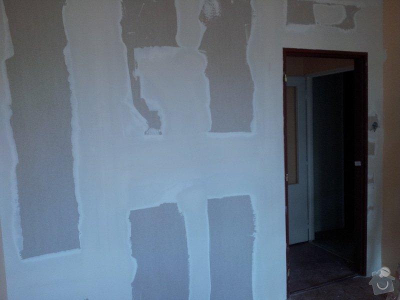 Přepažení místnosti: 20120123_143832