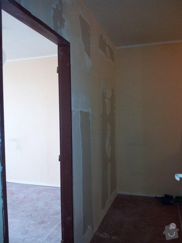 Přepažení místnosti: 20120123_143850