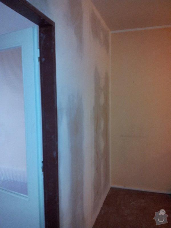 Přepažení místnosti: 20120124_093827
