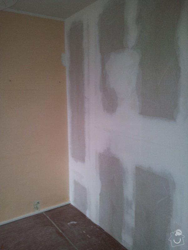 Přepažení místnosti: 20120124_093837