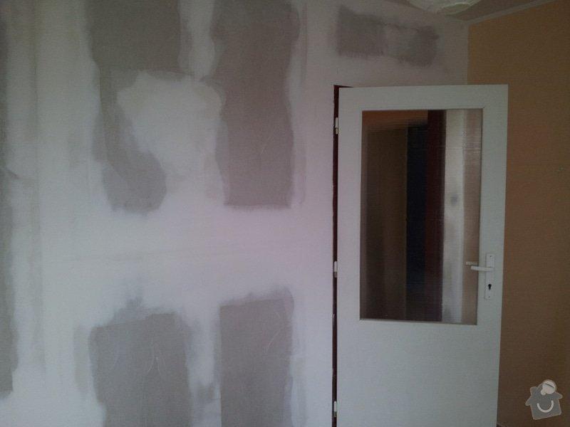Přepažení místnosti: 20120124_093850