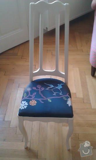 Oprava židle: zidle1