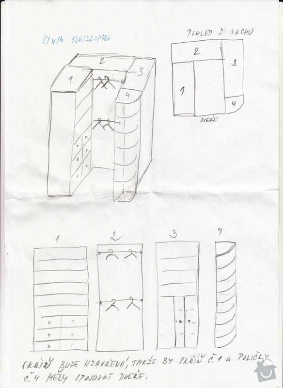 Šatní skříň/šatnu: Popelkovaskrin